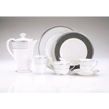 Lenore Platinum Dinnerware Collection