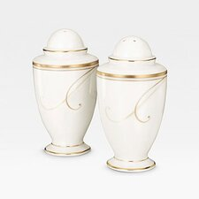 <strong>Noritake</strong> Golden Wave Salt & Pepper Set