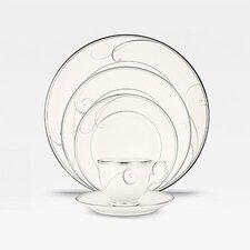 Platinum Wave Dinnerware Collection