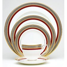 <strong>Noritake</strong> Ruby Coronet 5 Piece Place Setting