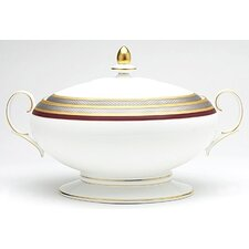 Ruby Coronet 70 oz. Covered Vegetable Bowl