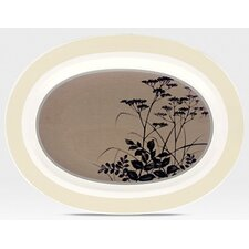 "<strong>Noritake</strong> Twilight Meadow 14"" Oval Platter"