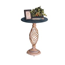 Haven Pedestal End Table