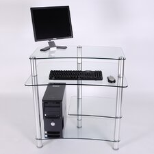 "<strong>RTA Home And Office</strong> 32"" W Computer Desk with Keyboard Tray"