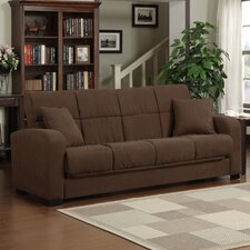 <strong>Handy Living</strong> Damen Convert-a-Couch Full Sleeper Sofa