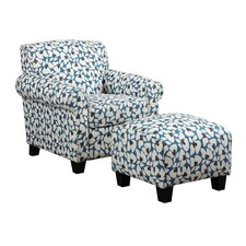 Winnetka Arm Chair and Ottoman