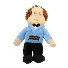 Three Stooges Larry Dog Toy