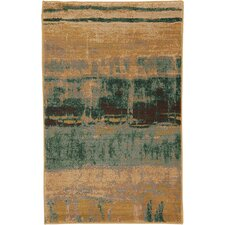 Artois Mericourt Teal Area Rug