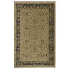Original Persian Garden Dark Beige Area Rug