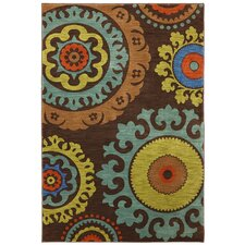 Panache Coffee Bean Indonesia Area Rug