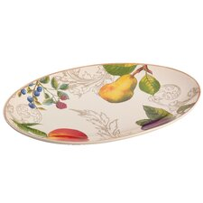 "Orchard Harvest 13"" Oval Platter"