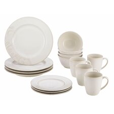 Paisley Vine 16 Piece Dinnerware Set