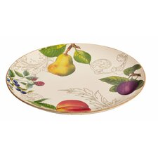 "Orchard Harvest 12"" Round Platter"