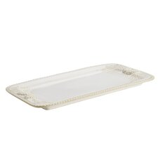 "Sierra Pine16"" Rectangular Stoneware Platter"