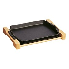 New Classic Rectangular Serving Dish in Black