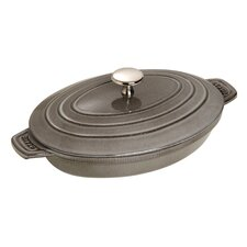New Classic 23cm Oval Hot plate in Grey