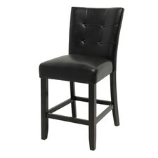 Monarch Counter Height Parsons Chair in Multi-Step Espresso