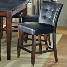 "<strong>Steve Silver Furniture</strong> Granite Bello 24"" Bar Stool with Cushion"