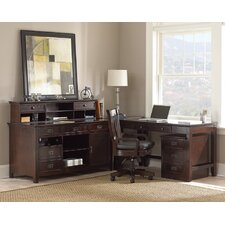 Teton L-Shape Desk Office Suite