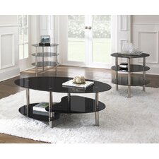 Tampa 3 Piece Coffee Table Set
