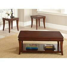 Aubrey 3 Piece Coffee Table Set