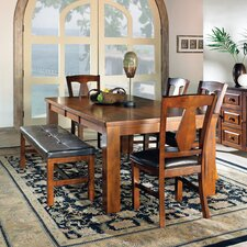 Lakewood 6 Piece Extendable Dining Set