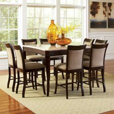 Marseille 9 Piece Counter Height Dining Set