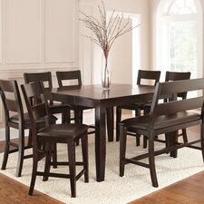 Victoria 8 Piece Counter Height Dining Set