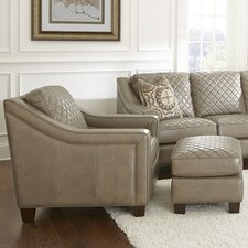 Wellington Arm Chair and Ottoman