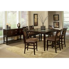 <strong>Steve Silver Furniture</strong> Montblanc 7 Piece Counter Height Dining Set