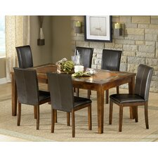 <strong>Steve Silver Furniture</strong> Davenport 7 Piece Dining Set