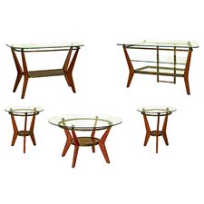<strong>Steve Silver Furniture</strong> Saxony Coffee Table Set