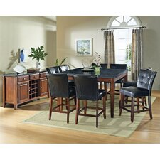<strong>Steve Silver Furniture</strong> Granite Bello Counter Height Dining Table