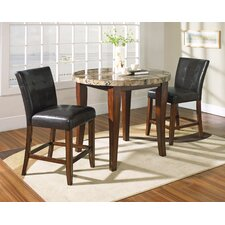 Montibello Counter Height Pub Table Set
