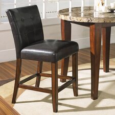 "<strong>Steve Silver Furniture</strong> Montibello 24"" Bar Stool with Cushion"