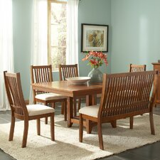 <strong>Steve Silver Furniture</strong> Tulsa 6 Piece Dining Set