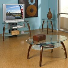 <strong>Steve Silver Furniture</strong> Atlantis Coffee Table Set