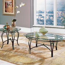 <strong>Steve Silver Furniture</strong> Madrid Coffee Table Set
