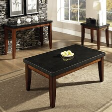 <strong>Steve Silver Furniture</strong> Granite Bello Coffee Table Set