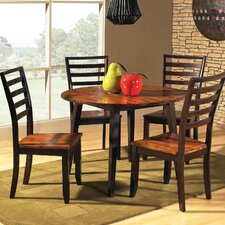 Abaco 5 Piece Double Dining Set