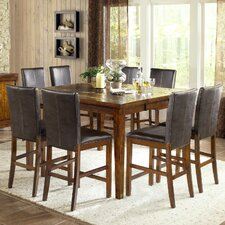 <strong>Steve Silver Furniture</strong> Davenport 9 Piece Counter Height Dining Set