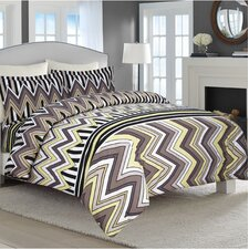 3 Piece Flannel Luxury Duvet Cover Set
