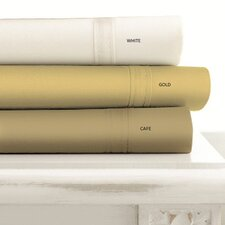 <strong>Tribeca Living</strong> 500 Thread Count Egyptian Cotton Extra Deep Pocket Sheet Set