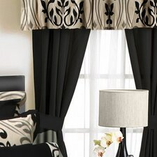 <strong>Tribeca Living</strong> Prague 6 Piece Rod Pocket Drape Panel (Set of 2)