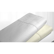 <strong>Tribeca Living</strong> Stripe Hemstitched Sheet Set