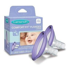 <strong>Lansinoh</strong> Affinity Comfort Fit Flange (Set of 2)