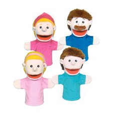 <strong>Get Ready Kids</strong> Family Puppet Set