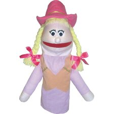 <strong>Get Ready Kids</strong> Cowgirl Puppet
