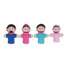 Family Bigmouth Puppets Hispanic
