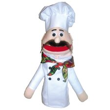 Half Body Character Puppets Chef